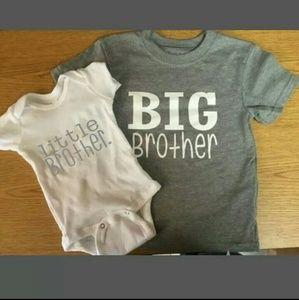 ❤Big Brother Litlle Brother Set❤ NWOT