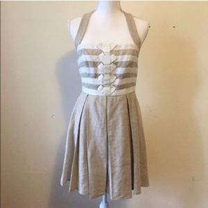 [SALE] Jessica Simpson Linen Halter Dress 6