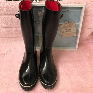 Kate Spade rain boots size 9