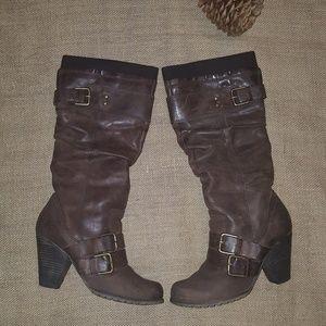 "Aldo Genuine Leather Boots  ""Voller"", size 8.5 - 9"