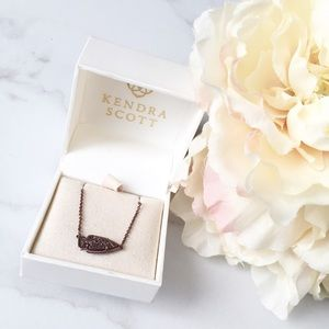 Kendra Scott Kasey chocolate drusy necklace