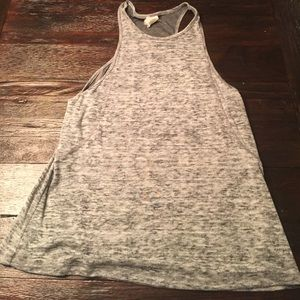 Small Obey grey muscle tank