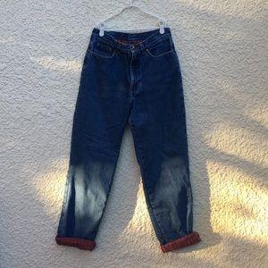 Denim - Vintage High Waisted Med Wash 90s Jeans