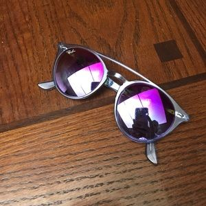 Ray-Ban Sunglasses-blue- worn once