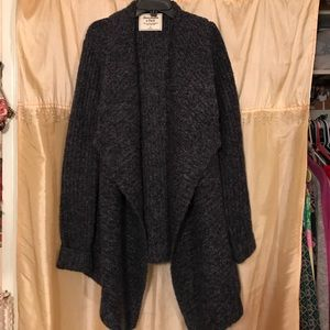 Abercrombie and Fitch shawl collar cardigan