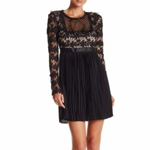 [Romeo+Juliet couture] nwt, pleated lace dress