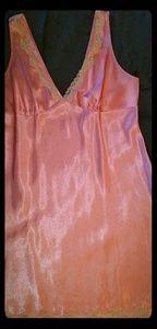 Vintage 50's slip style nightgown