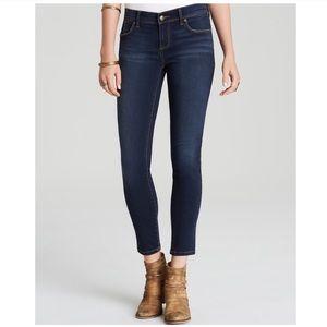 Free People Roller Crop Skinny Jeans in Ella Wash