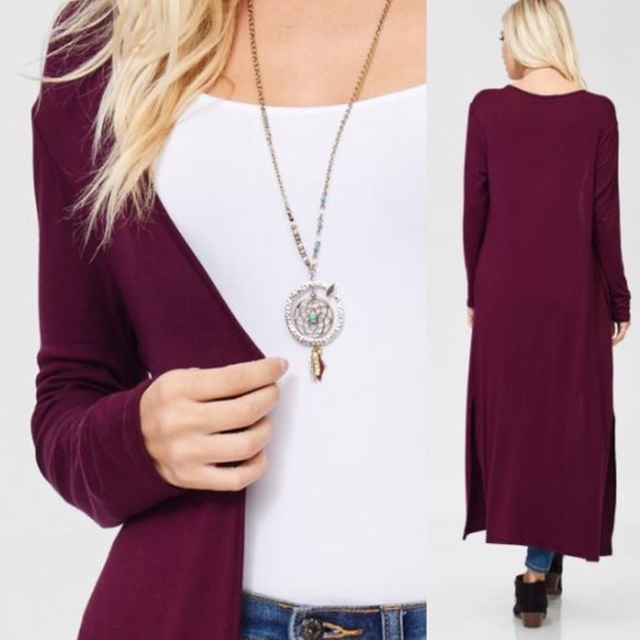 3255f4506a Annabelle Sweaters - LAST SIZE NWT Small Long Sleeve Duster w pockets