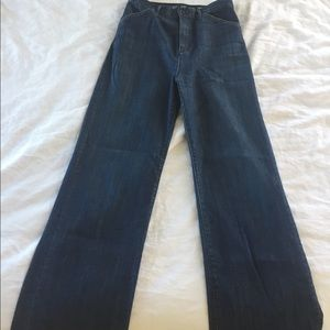 Earnest Sewn High Rise Jeans Size 31