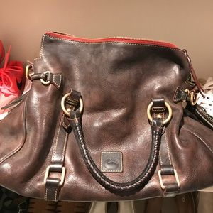 Large Dooney & Bourke leather handbag