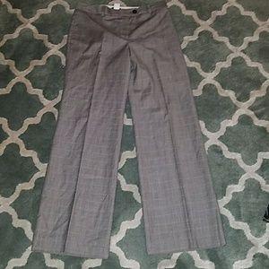 J CREW Italian Wool Plaid Dress Pants Sz 28