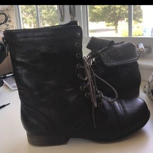 """The """"combat boot"""" by Madden Girl"""
