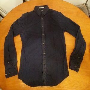 Express XS Blue Dress Shirt