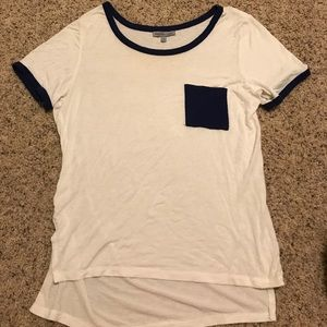 High low Charlotte Russe top