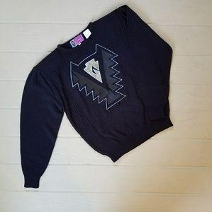 Vintage 80s New Wave Sweater NWOT