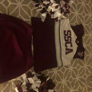Cheerleading oufit/holloween  costume