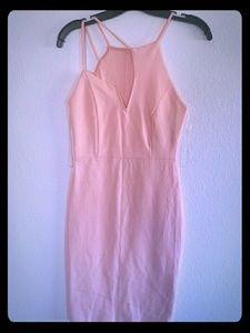Women's Pink Bodycon Dress
