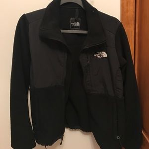 North Face Black Denali Like New Size S