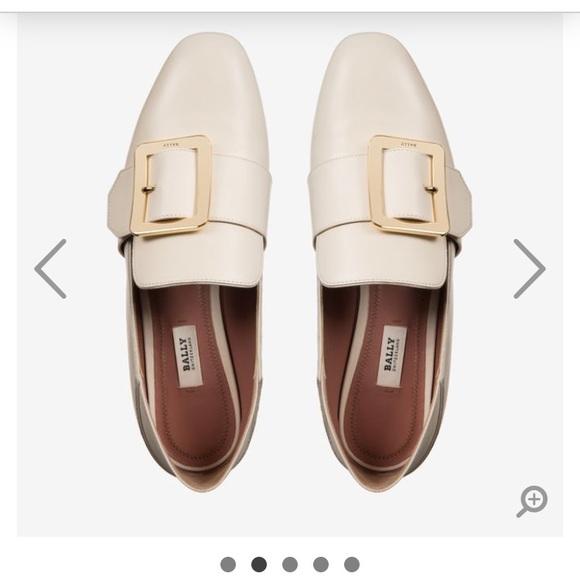 1dbd2f052d9 Bally Shoes - Bally JANELLE women s calf leather slipper in Bone