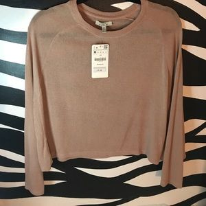 Zara Knitwear with Fun Sleeves NWT