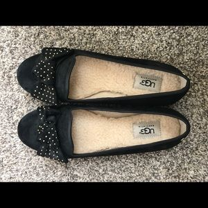 Ugg wool lined flats! Brand new never been worn!