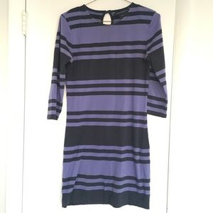 French Connection jag striped dress
