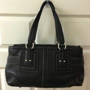 "Authentic COACH ""Hampton"" style satchel"