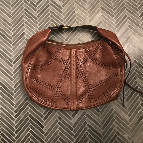 c0efeb00beb Cole Haan Bags | Brown Lasercut Purse | Poshmark