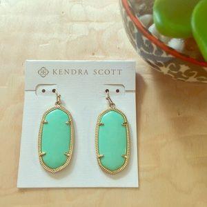 Kendra Scott Sea Foam Elle Earrings