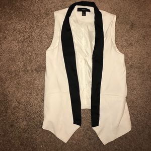 Lady's Tuxedo Vest