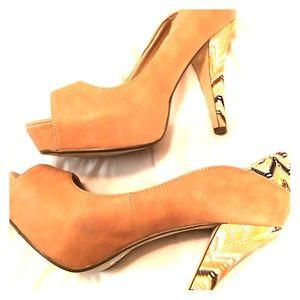 Shoes - Madden Girl Peeptoe Heels