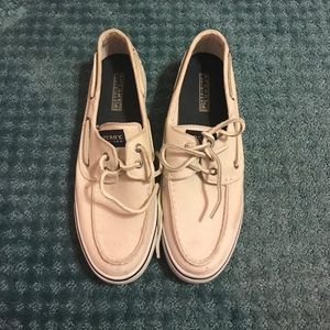 White Sperry topsiders - NEVER WORN