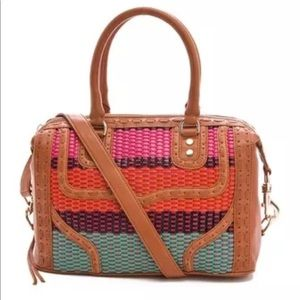 Rebecca Minkoff  Colorful Weave MAB Mini Bombe