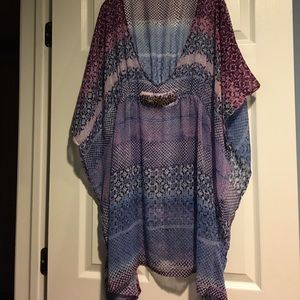 Colorful Beach Cover-up