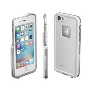 iPhone 6 6S White & Gray Lifeproof Phone Case