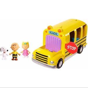 Snoopy School Bus