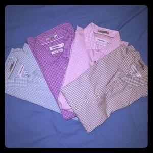 Bundle of 5 (FIVE) Calvin Klein Men's Dress Shirts