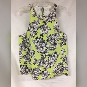 J.CREW Collection Racer Tank in Photo Floral