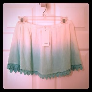 NWT Tobi Ombré Skirt