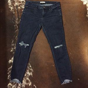 Free People dark wash jeans