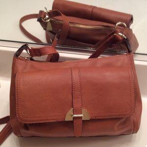 Beautiful Carmel Color Liz Claiborne Shoulder Bag