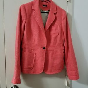 J. CREW Robert Noble Herringbone Wool Blazer T12