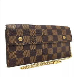 Louis Vuitton Damier long wallet