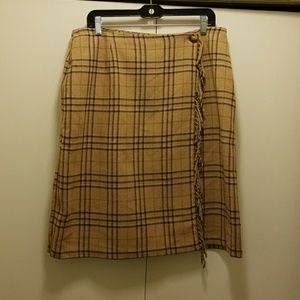 Sag Harbor Wool Blend Skirt Size 16