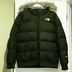 North Face Black Puffer Jacket