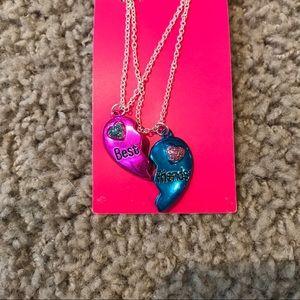 New Justice Best Friends Necklace Set