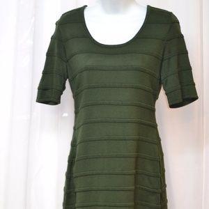 Calvin Klein Sweater Dress Hunter Green M