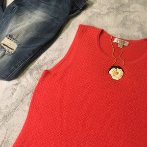 Nordstrom Corral Silk and Cashmere Tank