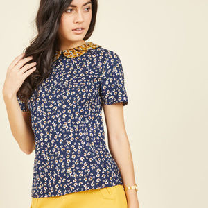 Sugarhill Boutique Workday Whimsy Floral Top